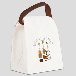 Appalachia Instruments Canvas Lunch Bag