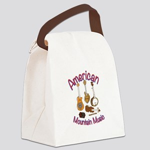 American Mountain Music Canvas Lunch Bag