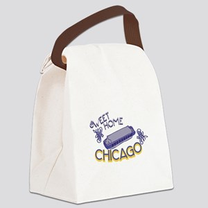Sweet Home Chicago Canvas Lunch Bag