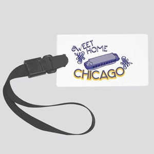 Sweet Home Chicago Luggage Tag