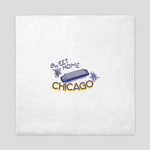 Sweet Home Chicago Queen Duvet