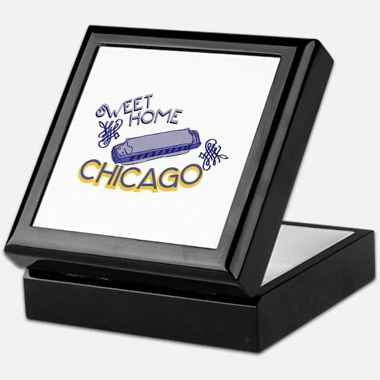 Sweet Home Chicago Keepsake Box