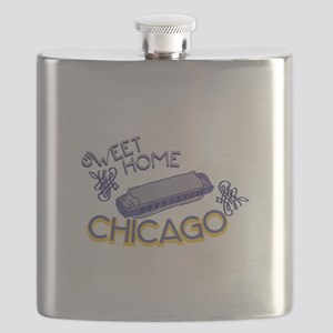 Sweet Home Chicago Flask