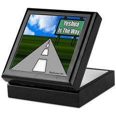 Yesua Is The Way Keepsake Box