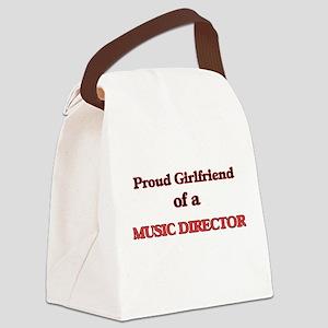 Proud Girlfriend of a Music Direc Canvas Lunch Bag