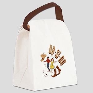 Do-Si-Do Canvas Lunch Bag