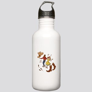 Square Dance Water Bottle