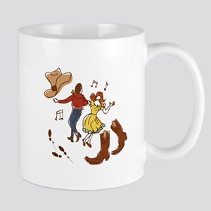 Square Dance Mugs