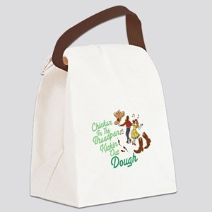 Chicken In Breadpan Canvas Lunch Bag