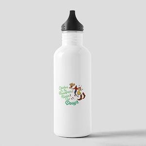 Chicken In Breadpan Water Bottle