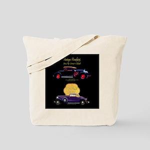 Art Deco Jazz Era Roadsters Tote Bag