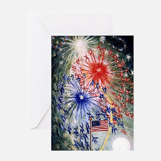 Fourth of July, Number 1 Greeting Cards