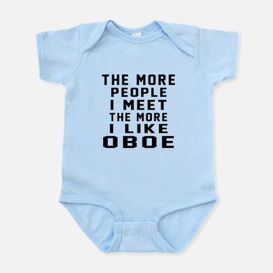 I Like More Oboe Infant Bodysuit