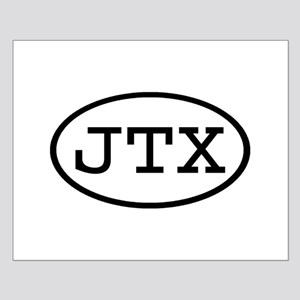 JTX Oval Small Poster