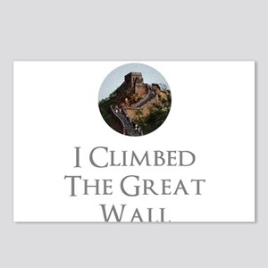 I Climbed The Great Wall Postcards (Package of 8)