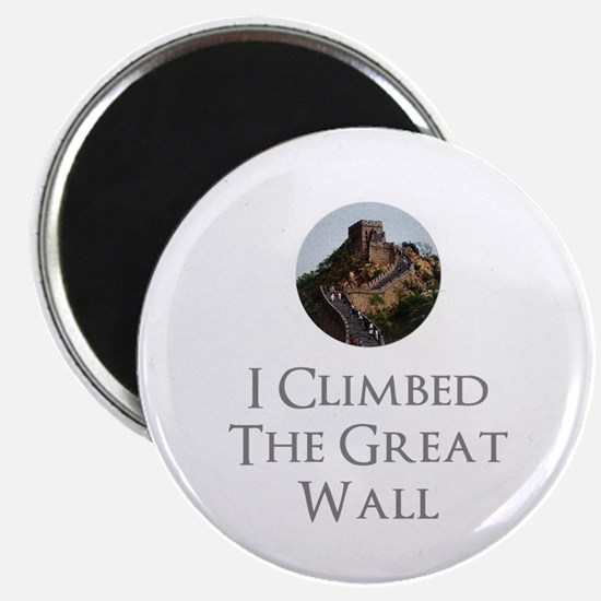 I Climbed The Great Wall Magnet