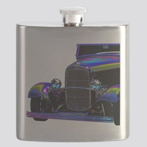 Classic Ford Hotrod - Vintage Auto Flask