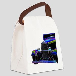 Classic Ford Hotrod - Vintage Aut Canvas Lunch Bag