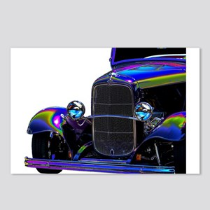 Classic Ford Hotrod - Vin Postcards (Package of 8)