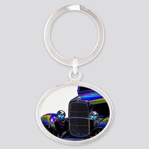 Classic Ford Hotrod - Vintage Auto Keychains