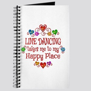 Line Dancing Happy Place Journal
