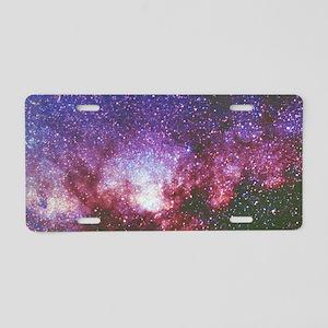Lost in Space - Galaxy Seri Aluminum License Plate