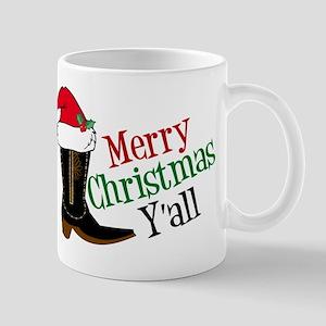 Cowboy Christmas 11 oz Ceramic Mug