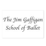 JG SCHOOL OF BALLET Postcards (Package of 8)
