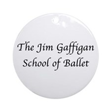 JG SCHOOL OF BALLET Ornament (Round)