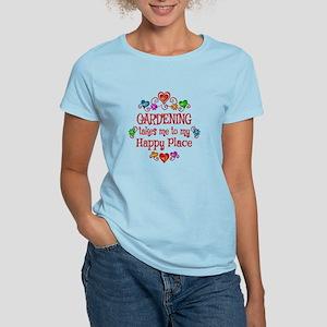 Gardening Happy Place Women's Light T-Shirt