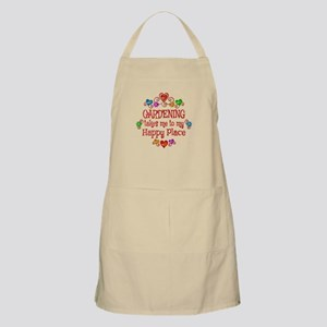 Gardening Happy Place Apron