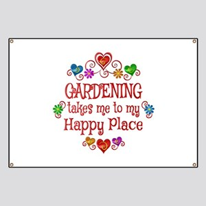 Gardening Happy Place Banner