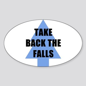 Take Back the Falls Sticker