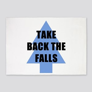 Take Back the Falls 5'x7'Area Rug