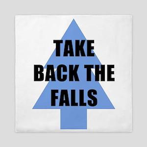 Take Back the Falls Queen Duvet