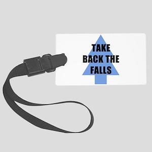 Take Back the Falls Luggage Tag