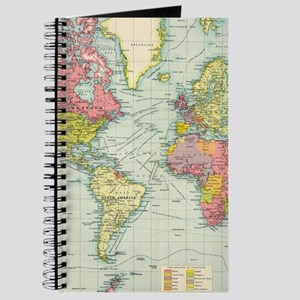 Old world map notebooks cafepress vintage political map of the world 1922 journal gumiabroncs