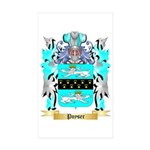Poyser Sticker (Rectangle 50 pk)