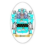Poyser Sticker (Oval 50 pk)