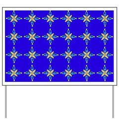Palette Sturgeonfish and Clownfish 4x4 pattern on