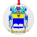 Poxon Round Ornament