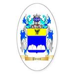 Poxon Sticker (Oval 50 pk)