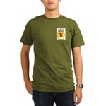 Powys Organic Men's T-Shirt (dark)