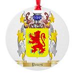 Powys Round Ornament