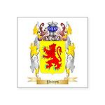 Powys Square Sticker 3