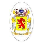 Powys Sticker (Oval)