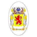 Powys Sticker (Oval 50 pk)