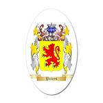 Powys 20x12 Oval Wall Decal
