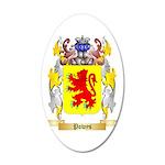Powys 35x21 Oval Wall Decal