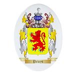 Powys Oval Ornament
